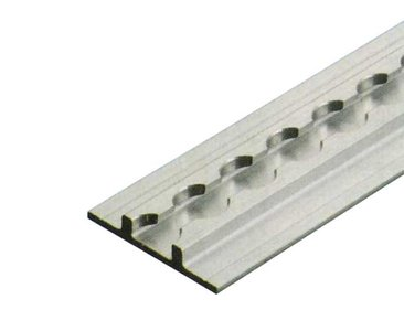 Aluminium bindrail